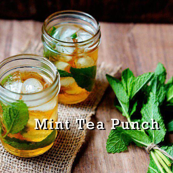 Mint Tea Punch