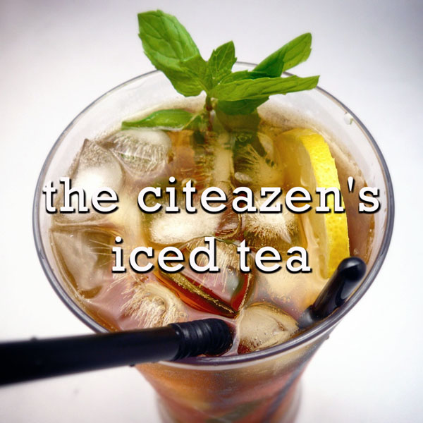 The Citeazen's Iced Tea