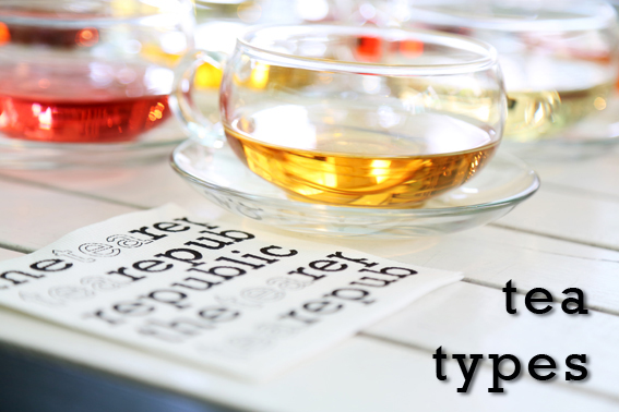 About Tea Types