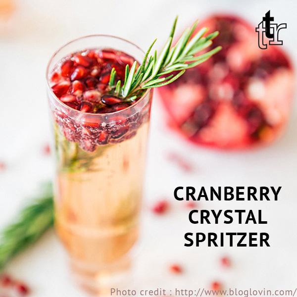 Cranberry Crystal Spritzer
