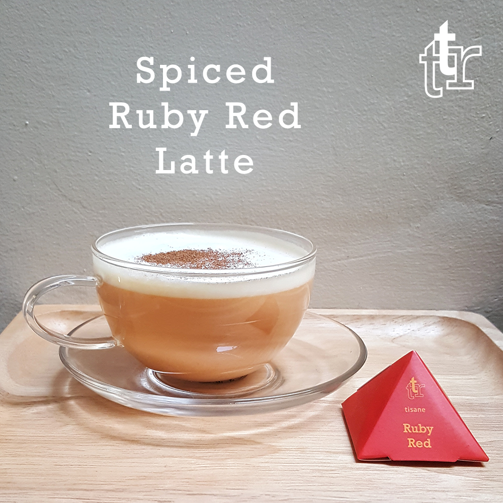 Spiced Ruby Red Latte
