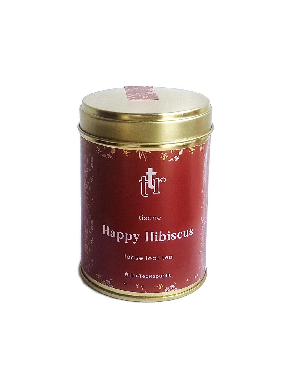 Loose Leaf Tea Happy Hibiscus The Tea Republic