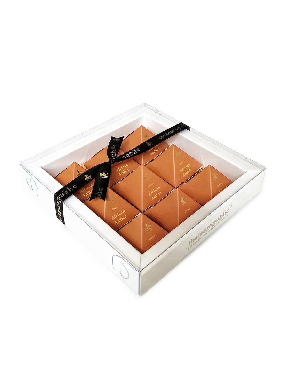 Tea Pyramid Gift Box African Amber