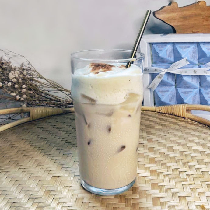 Tiramisu Dalgona Tea Latte for non-coffee drinkers!