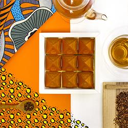 African Amber Tea Pyramids