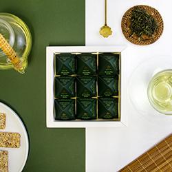 Jeoncha Jade Tea Pyramids