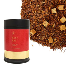 Ruby Red Loose Leaf Canister