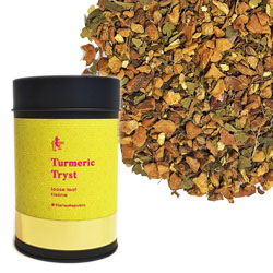 Turmeric Tryst Loose Leaf Canister