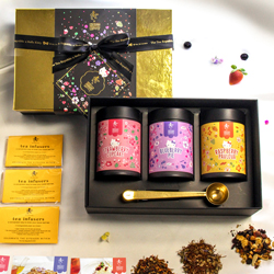 The Summer Berry Trio: Loose Leaf Set